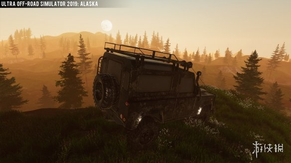 《越野車模擬器2019:阿拉斯加》游戲截圖