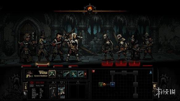 《暗黑地牢2》游戏截图