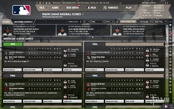 《勁爆美國棒球20》游戲截圖