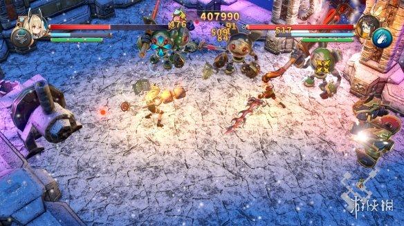 《RemiLore 少女与异世界与魔导书》游戏截图