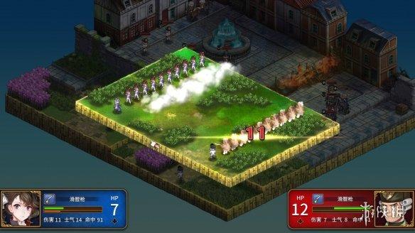 《圣女战旗》游戏截图4
