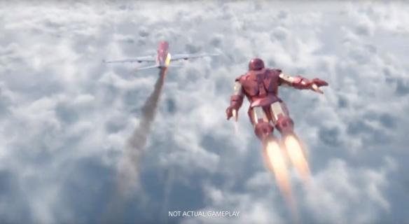 《漫威鋼鐵俠VR》游戲截圖
