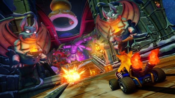 《古惑狼赛车 重制版》游戏截图