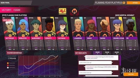 《全能電子競技經理》游戲截圖