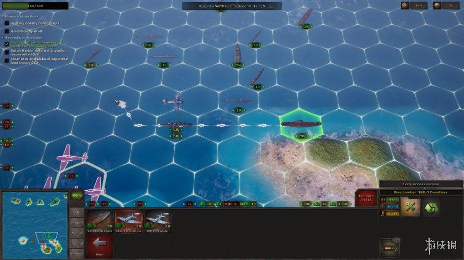 《战略思维:太平洋》游戏截图