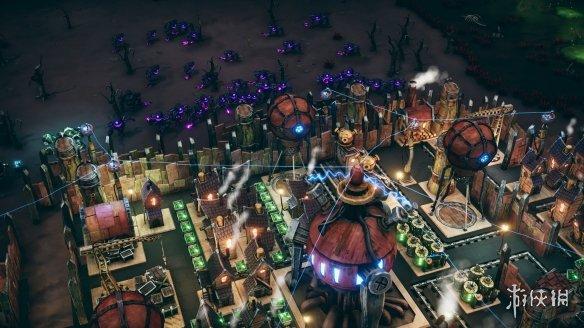 《夢幻引擎:移動城市》游戲截圖