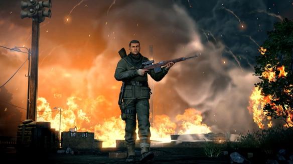 《狙擊精英V2重制版》游戲截圖-2