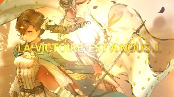 《圣女戰旗》游戲截圖-2
