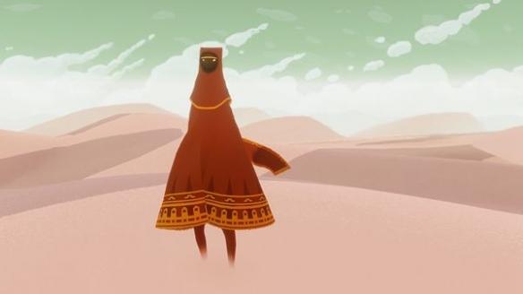 《风之旅人》游戏截图