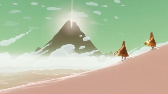 《風之旅人》游戲截圖