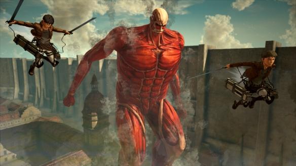 《進擊的巨人2:最終之戰》游戲截圖-2