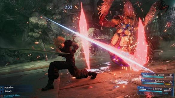 最终幻想7重制版新战斗模式演示视频新战斗模式怎么样