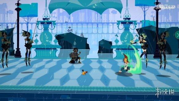 《水晶传说》游戏截图