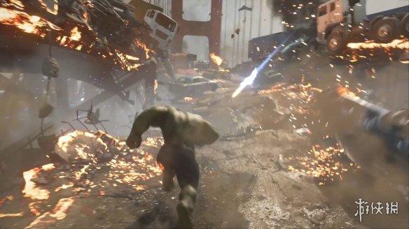《漫威复仇者联盟》游戏截图