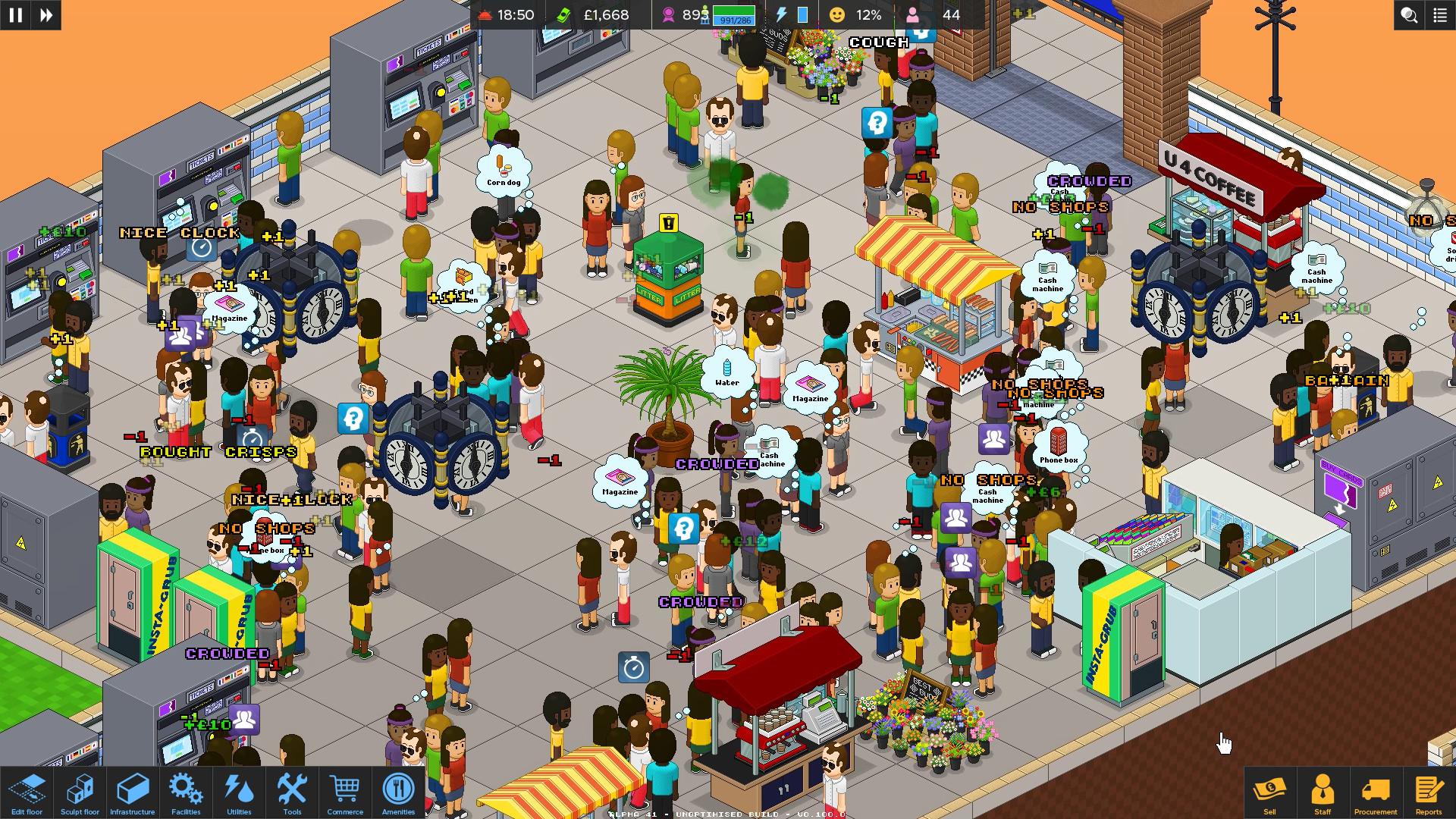 通勤:地铁站/Overcrowd: A Commute Em Up插图2