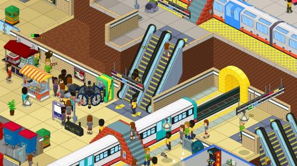 《过度拥挤:通勤》游戏截图-2
