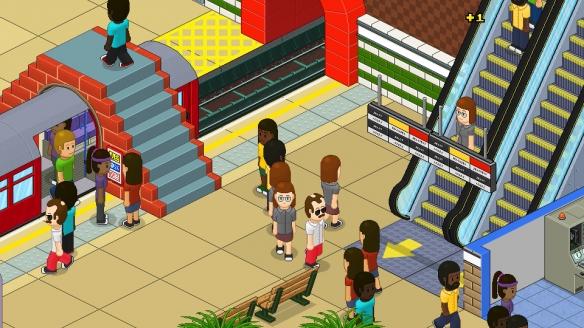 《过度拥挤:通勤》游戏截图-5