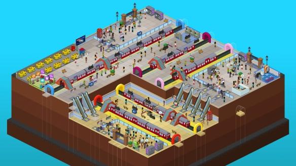 《过度拥挤:通勤》游戏截图-6