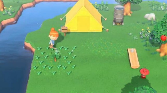 《动物之森新地平线》游戏截图