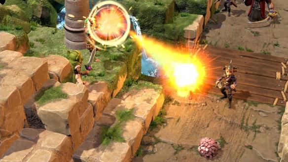 《魔水晶:抗争时代战略版》游戏截图