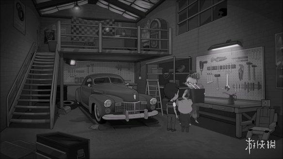 《與熊同行:丟失的機器人》游戲截圖