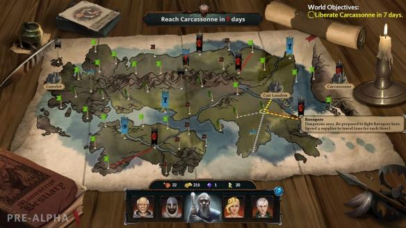 《梅林之手》游戏截图