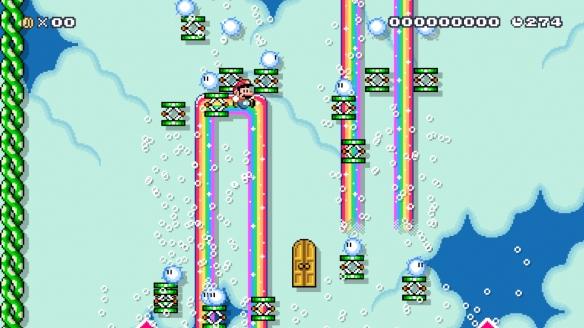 《超級馬里奧制造2》游戲截圖-2