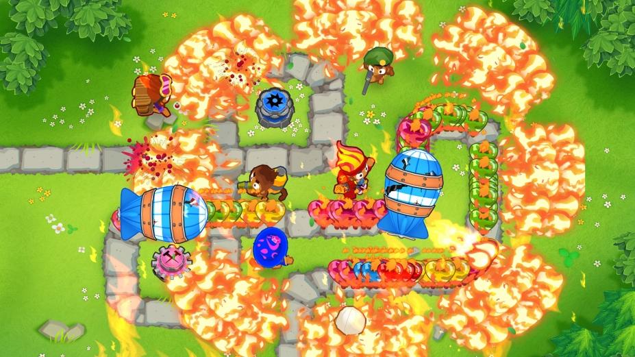 《气球塔防6》游戏截图