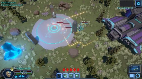 《銀河戰隊》游戲截圖