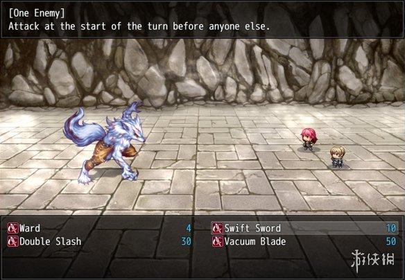 《蒂娜:深红之狱的女剑士》游戏截图