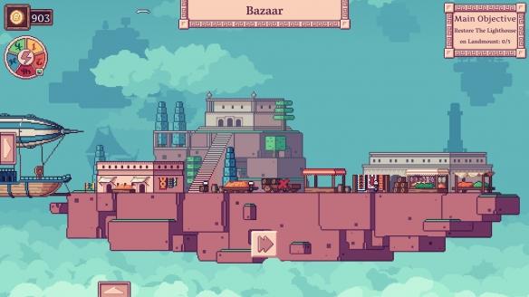《天空商人》游戏截图