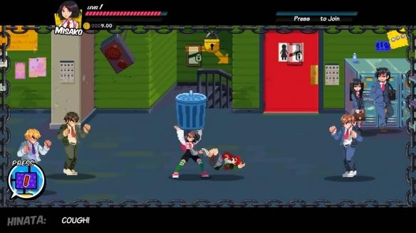《热血硬派外传热血少女》游戏截图-2