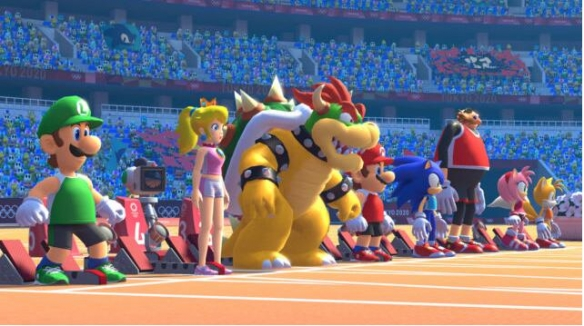《馬里奧和索尼克在東京奧運會》游戲截圖