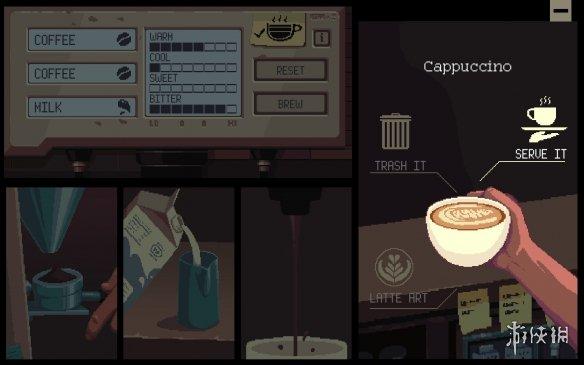 《Coffee Talk》游戏截图