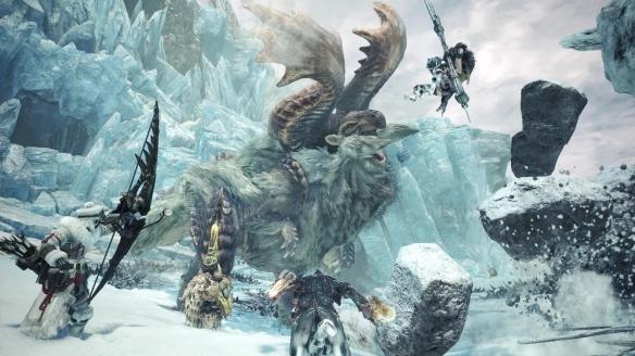 《怪物獵人世界:冰原》游戲截圖-2
