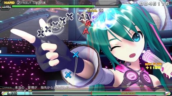 《初音未来歌姬计划MEGA39s》游戏截图-2