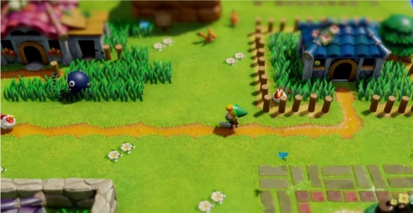 《塞尔达传说:梦见岛》游戏截图-2