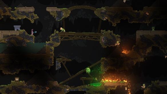 《女巫Noita》游戏截图