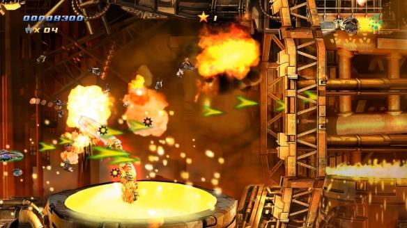 《旋風戰機EX》游戲截圖