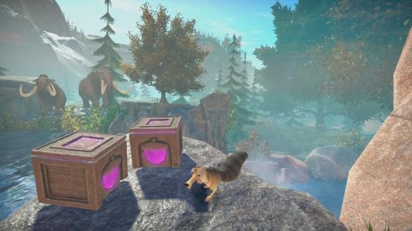 《冰河世紀:斯克萊特堅果冒險》游戲截圖
