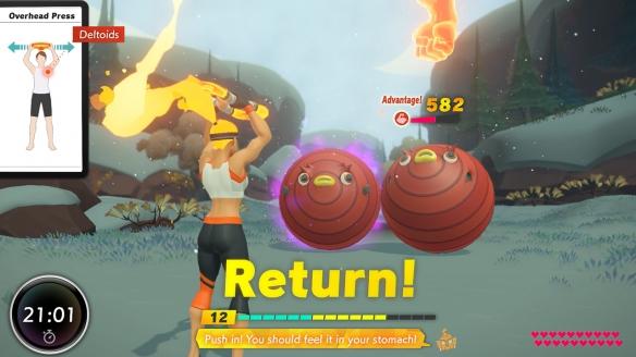 《健身环大冒险》游戏截图