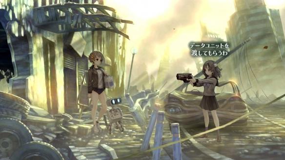 《十三機兵防衛圈》游戲截圖-2