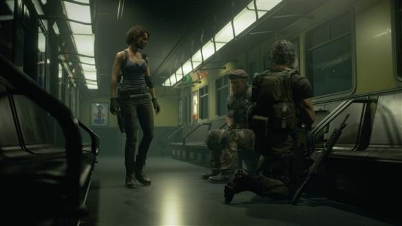 《生化危機3:重制版》游戲截圖