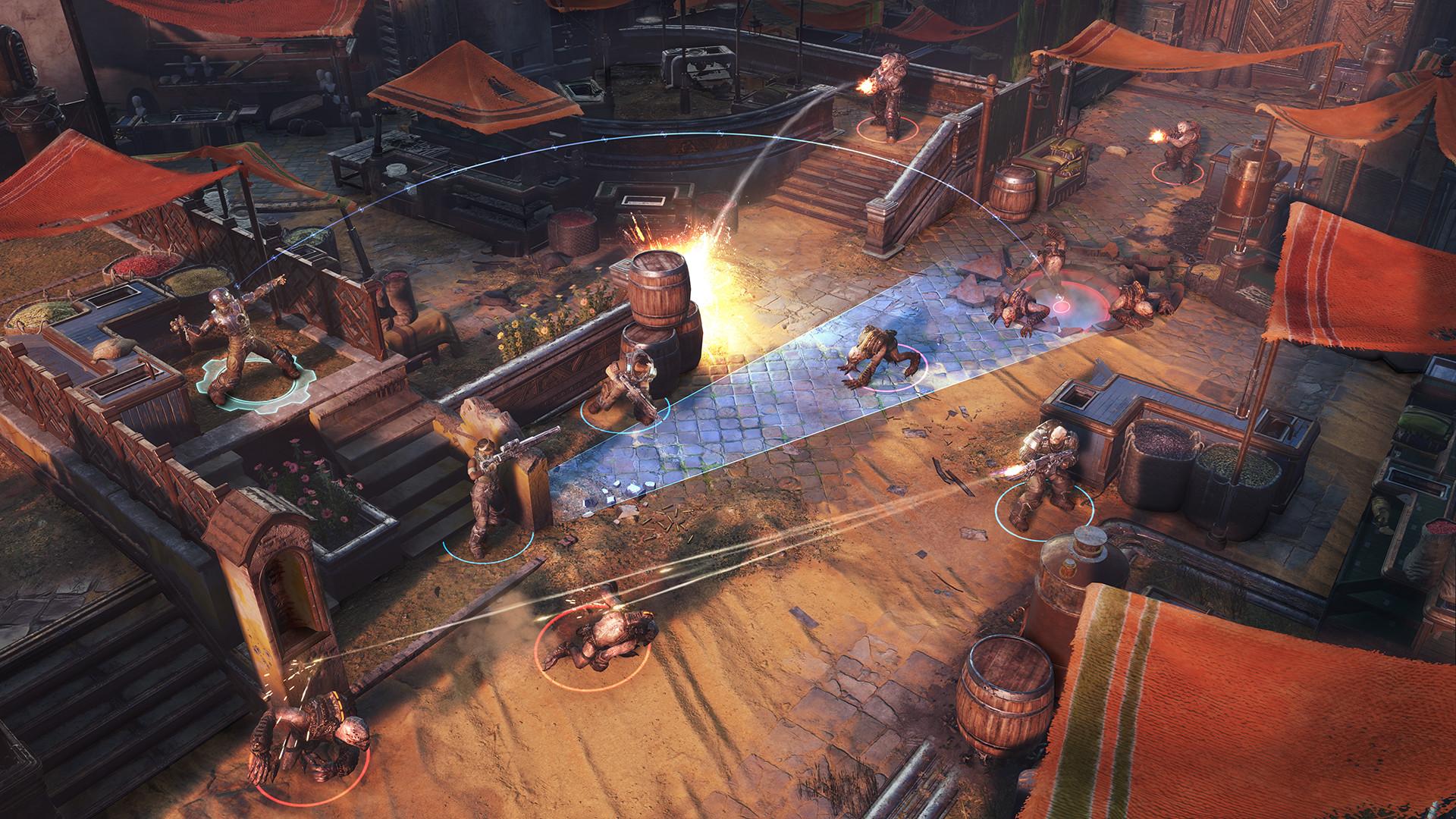 战争机器:战略版 策略战棋SLG新游