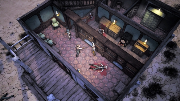 《怪异西部》游戏截图