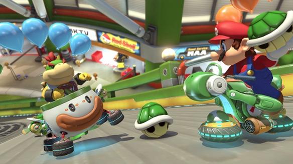 《马里奥赛车8:豪华版》游戏截图
