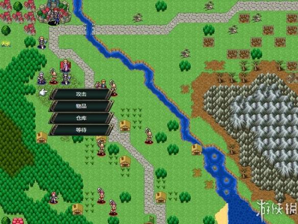 《维斯塔利亚传说:亡国骑士与星辰巫女》游戏中文截图