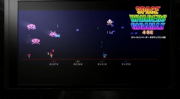 《太空侵略者:无敌合集》游戏截图
