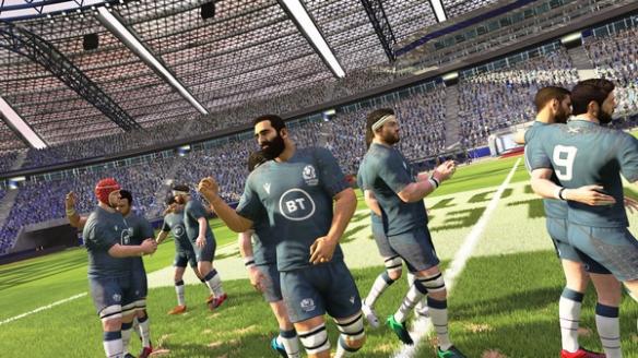 《橄欖球20》游戲截圖