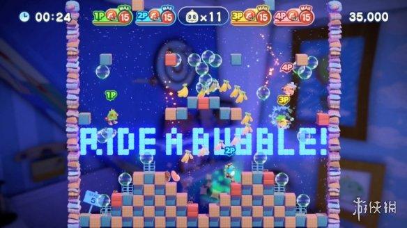 《泡泡龙4:伙伴》游戏截图